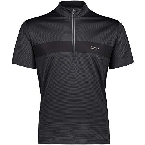 CMP T-Shirt Freebike pour Homme. XXL Noir/Asphalte