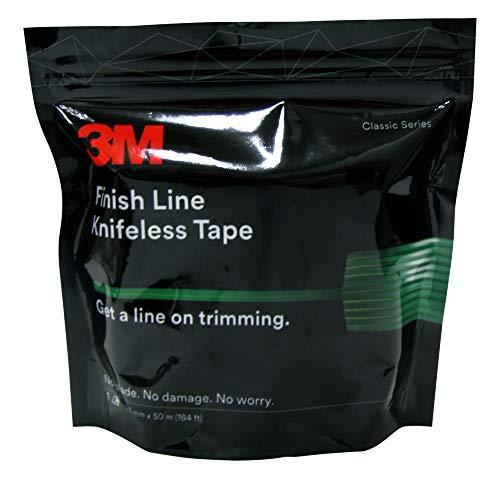 Finish Line 3M Schneideband, Knifeless Tape, 3,5mm x 50m, Messerlos schneiden ohne Kratzer
