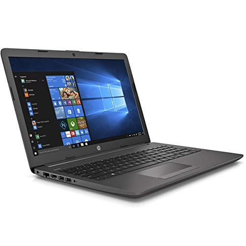 HP 250 G7 Notebook PC, Grey, Intel Celeron N4000, 4GB RAM, 256GB SSD, 15.6' 1366x768 HD, DVD-RW, HP 1 Year Warranty, Italian Keyboard, (renewed)