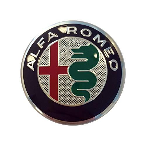 Alfa Romeo My2016 Cache-moyeu en alliage d'origine pour Giulietta, Stelvio et Giulia
