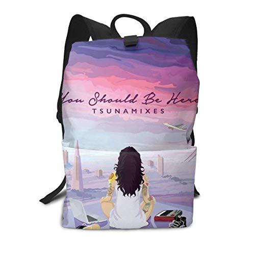 Homebe Mochila Unisex, Mochilas y Bolsas, Kehlani's R&B School College Bookbag for Girls Boys Fashion Travel Back Pack