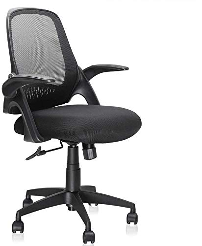 Mid-Back Mesh Office Chair, Ergonomic Desk Chairs Swivel Computer Task Chairs with Adjustable Height...