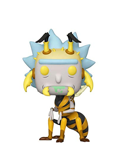Popsplanet Funko Pop! Animation – Rick And Morty – Wasp Rick #663 Vinyl Figure 10 cm Released...