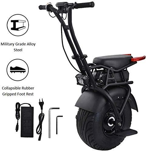 ZHANGDONG 18 Zoll Einrad Elektroroller selbstausgleich elektrischen Rollerrad Erwachsene