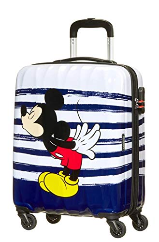 American Tourister Disney Legends - Spinner M Valigia per Bambini, M (65 cm - 62.5 L), Multicolore (Mickey Kiss)