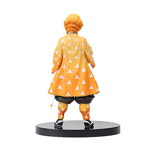 Allowevt Figura de Anime japonés de 63 pulgadas modelo de figura de anime de marioneta de Tanjirou Nezuko Zenitsu Tomioka colección de juguetes de muñeca bonita para fanáticos improved