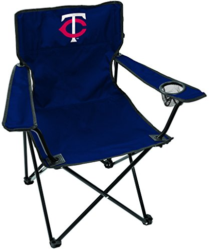 Rawlings MLB Gameday Elite Lightweight Folding Tailgating Chair, with Carrying Case, Minnesota Twins