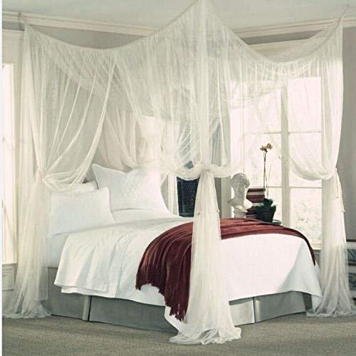 Stapelbed muggen net geweven stof schaduw net deur tent Kleur: wit