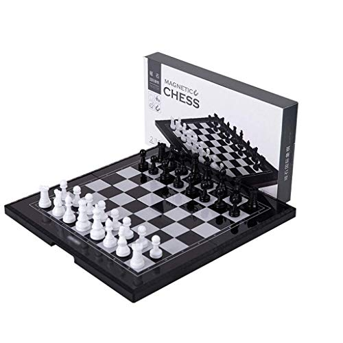 GLXLSBZ Chess set Plastic Chess, Magnetic Travel Chess Set With Set Chess Educational Toys For Birthday chess
