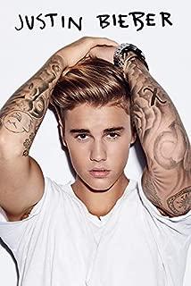 Pyramid International Justin Bieber White Poster 36x24 inch