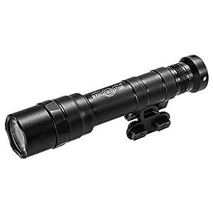 SureFire Duel Fuel Scoutlight Pro Tactical Light 1500 Lumen LED M640DF Bundle with 4 Extra CR123A Batteries and a Lightjunction Battery Box