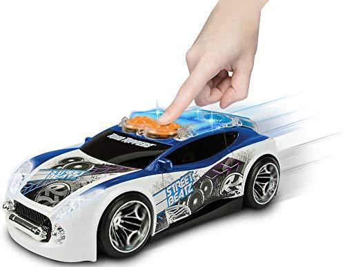 Nikko – Road Rippers Street Beatz – Motorisiertes Spielzeug Auto mit Licht und Sound – Wheelie Auto für Kinder – Weiß