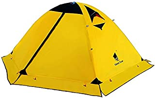 GEERTOP Ultralight 2 Man Tents for Camping Waterproof Double Layer 4 Season Backpacking Tents 2 Person for Hiking Climbing Outdoor Travel - Easy to Set Up