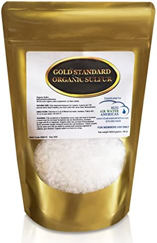 Gold Standard Organic Sulfur Crystals 1lb - 99.9% Pure MSM Crystals - Largest Granular Flakes Available - 3rd Party Tested