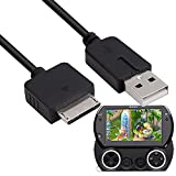 Replacement for PSP Go USB Charger Cable FEIYIU Data and Charging 2 in 1 Charger Charging Cord Cable Compatible with Sony PSP Go (3FT / Black)