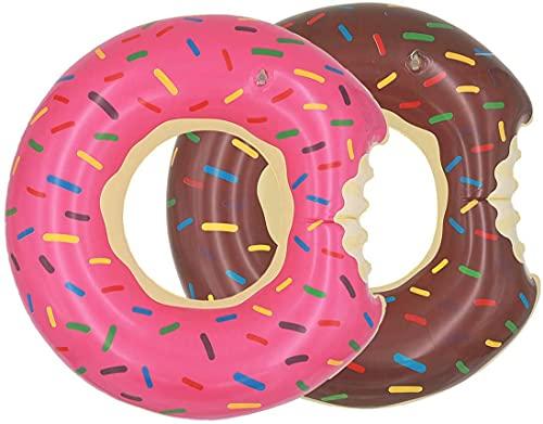 1pcs 60cm Pool Floats for Children Inflatable Donut Pool Float Swim Rings Single