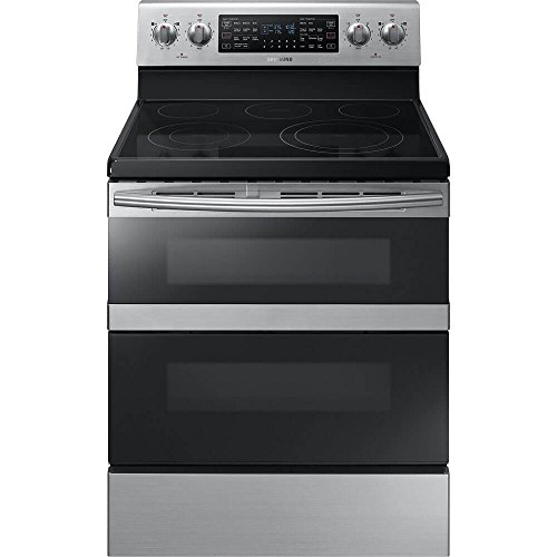 Samsung NE59M6850SS 5.9 Cu. Ft. Flex Duo Stainless Steel Electric Range...