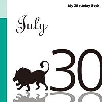 7月30日 My Birthday Book