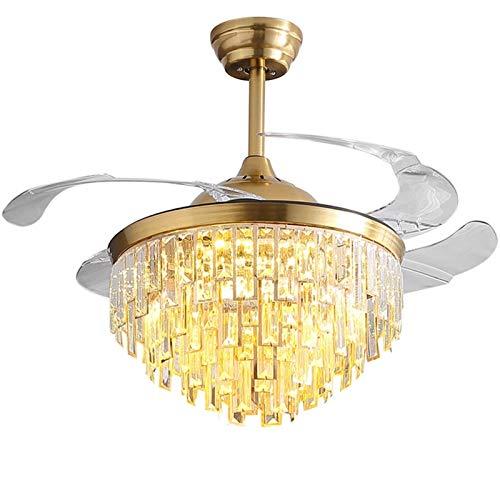 Homeland Candelabro de Cristal para Sala de Estar Candelabros de Oro Redondos de Lujo Iluminación Decoración del hogar Lámpara de Cristal LED