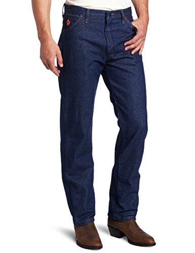 Wrangler Riggs Workwear Men's Flame Resistant Original Fit Jean,Blue,40x32