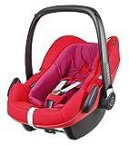 Maxi-Cosi Pebble Plus Babyschale, sicherer Gruppe 0+ i-Size Kindersitz (0-13 kg), nutzbar ab der Geburt bis ca. 12 Monate, passend für FamilyFix One Basisstation, red orchid