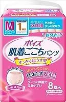 布感覚吸水ショーツ ポイズ肌着ごこち パンツ 女性用 1回吸収 M-8枚 16入(2合)