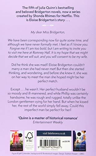 Bridgerton: To Sir Phillip, With Love (Bridgertons Book 5): Inspiration for the Netflix Original Series Bridgerton: Eloise's story (Bridgerton Family)