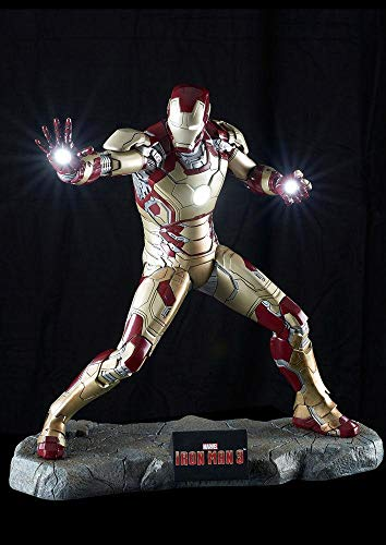 MUCKLE MANNEQUINS Figura Iron Man 3 Mark XLII 52 cm Ironman Avengers Armatura Marvel #1