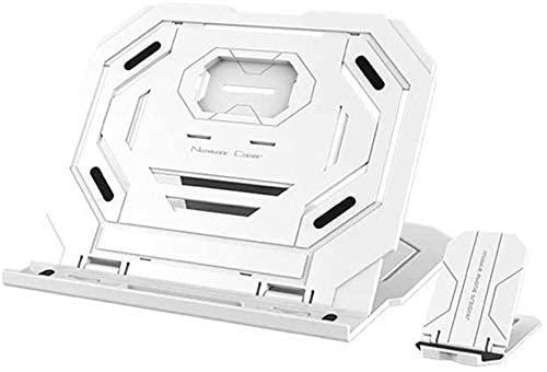 ZUIZUI Supporto per Laptop 360 ° Rotazione Regolabile per Notebook Regolabile per Notebook Pieghevole Pieghevole Pieghevole Portapop Portatile Supporto Tablet per 12-15 Pollici