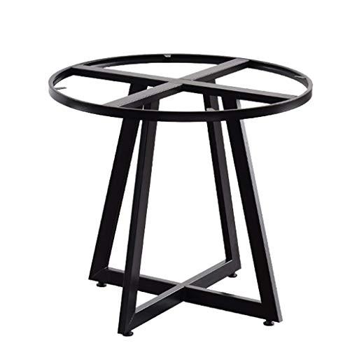 ZXL tafelsteun stalen frame, tafelpoten, geschikt voor doe-het-zelf salontafels, bijzettafels, consoles, salontafel, cocktailtafel, hoogte 28,7 inch, zwart