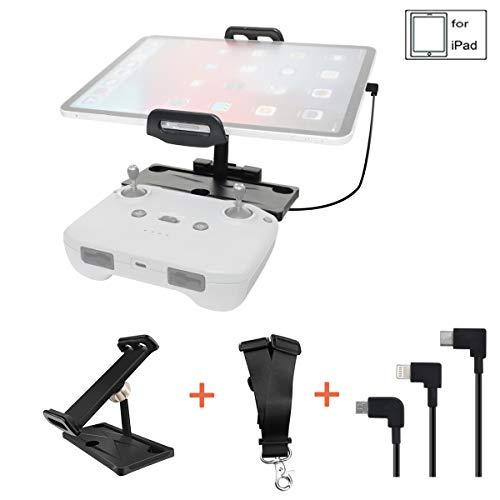 STARTRC 4-11 Zoll Aluminium Alloy Faltbarer Tablet Ständer Halterung mit Kabel für DJI Mavic Air 2 Fernbedienung Controller Zubehör