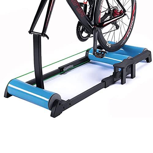Rodillos Para Bicicletas: Soporte Ajustable Para Entrenador De Bicicletas Para Entrenamiento En Interiores, Entrenadores De Resistencia De Bicicleta De Ciclismo Plegables Con Pedal Antideslizante