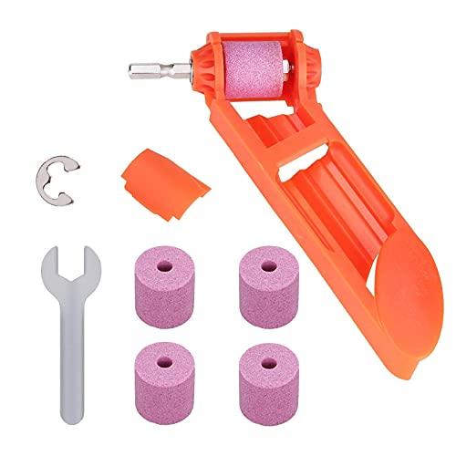 Afilador de brocas, herramienta de afilado de taladro manual de diamante, herramienta portátil con taladro, herramienta de brocas para taladro de hierro, rango de (2-12,5 mm)