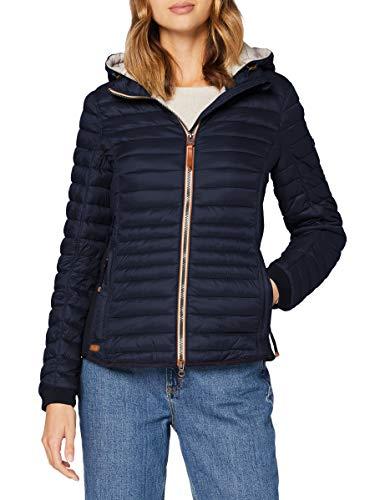 camel active Womenswear Damen 3302709E5043 Jacke, Navy, 46