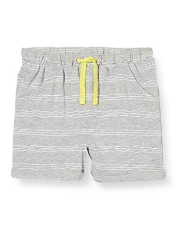 s.Oliver Junior Unisex Baby 405.10.005.18.183.2037282 Lässige Shorts, 94A7 Grey Melange, 68/REG