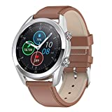 Gymqian Smart Watch Men L19 Bluetooth Smartwatch Diy Dials Super Long Battery Life Smart Clock para Android Ios Pk L13 Dt95 Gt2, B Desgaste diario/E