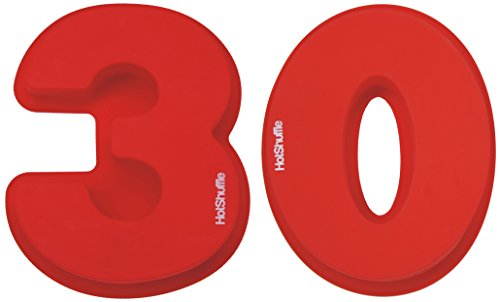 Grand nombre de silicone 30 Moule à gâteau moule 30e anniversaire 3 Anniversaire de mariage perle 0