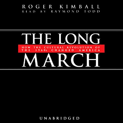 The Long March audiobook cover art