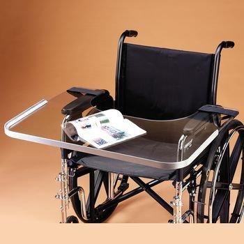 清晰的减肥轮椅托盘与铝圈,适合28'…