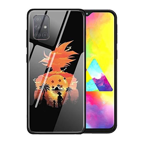 Carcasa de cristal templado para Samsung Galaxy S10 S20 S10e S8 S9 S20 Note 8 9 10 20 Plus Ultra 5G Anime Dragon Ball Z DBZ Super Saiyan Cover (14, Samsung Note 20)