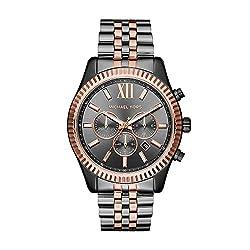 commercial Michael Kors Watch Lexington Gray MK8561 michael kors watches 2