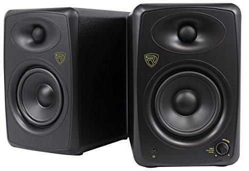 Rockville ASM5 5' 2-Way 200W Active/Powered USB Studio Monitor Speakers Pair