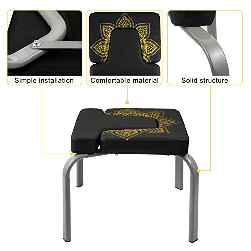 3L-Orz Yoga Headstand Bench,Yoga Inversion Chair for Gym and Fitness