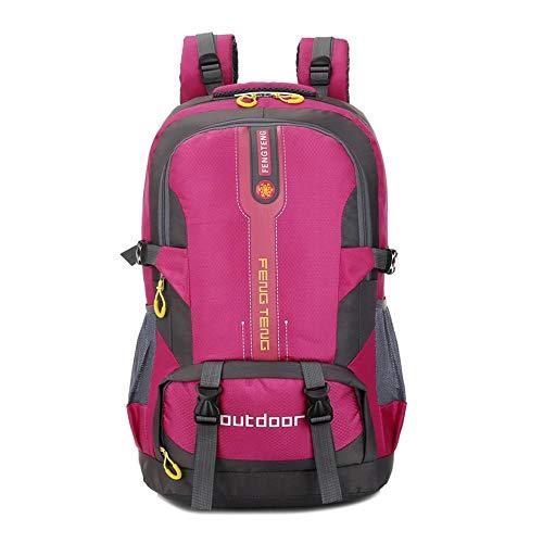 ZhongYi Waterdichte outdoor rugzak tas voor mannen en vrouwen sporttas 50L Grote capaciteit reizen bergbeklimmen tas Student pack D
