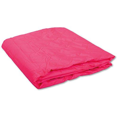 Bestlivings Picknickdecke, Stranddecke, Campingdecke viele Farben, Auswahl: Maße: 150 x160 cm, Farbe: pink - rosa