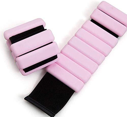 Qiusa - Braccialetto regolabile per caviglie, pesi per caviglia, peso alla caviglia, 850 grammi per caviglia, per rafforzare il fitness, passeggiate, jogging, ginnastica, 2 pezzi