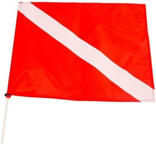 JBL High material Dive Flag Large special price Fiberglass Poles with