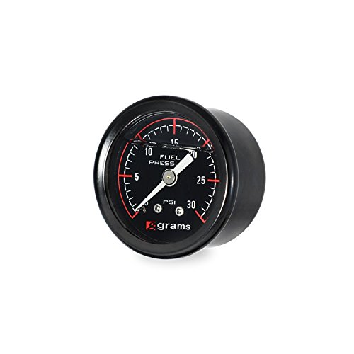 Read About Grams Performance and Design G2-99-0030 Fuel Pressure Gauge 0-30 psi 1.5 in. Mechanical 1...