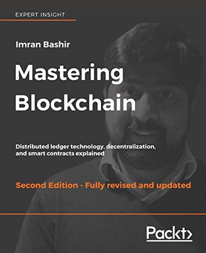 MASTERING BLOCKCHAIN (SEGUNDA EDICIÓN) - Imran Bashir