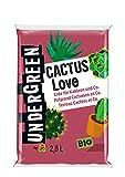 Undergreen Cactus Love, Erde für Kakteen und Co., Bio,...